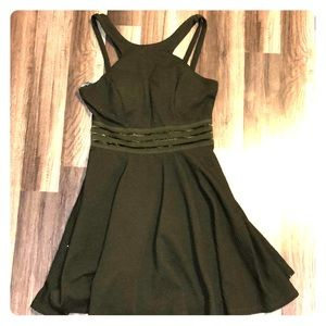 Olive Green Skater style dress from Nordstrom's